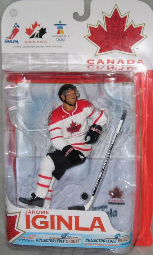 Jerome Iginla Figure Team Canada Walmart Exclusive