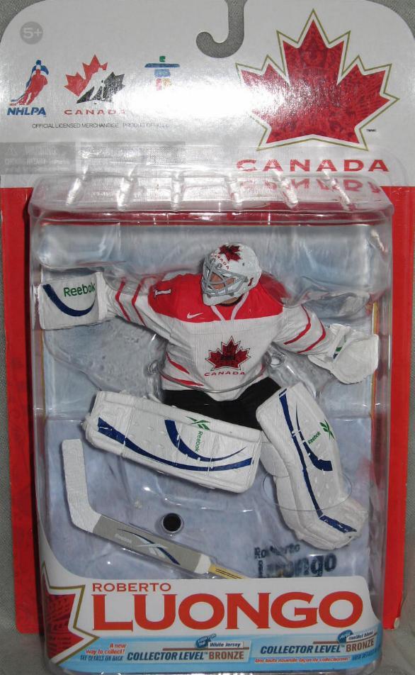 Roberto Luongo Figure Team Canada