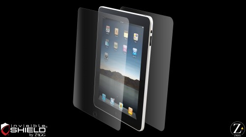 iPad ZAGG's invisibleSHIELD