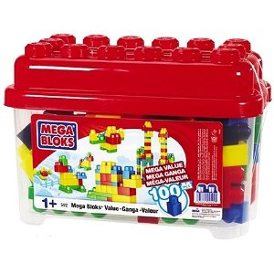 Mega Bloks Mega Value 100 Piece Building Set