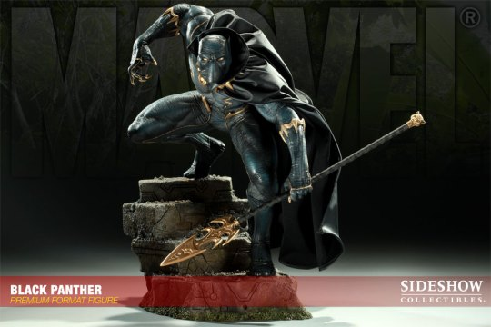 Sideshow and Marvel's Black Panther statue