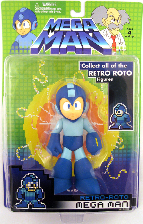 Mega man 6 Inch Action Figure Retro Roto