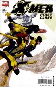 X-Men First Class Comic Book Cover