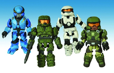 Minimates Halo Reach Coming in From Halo Reach