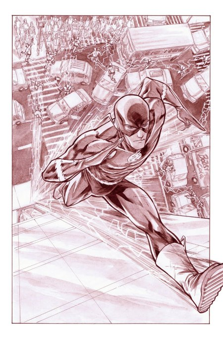 Flash Barry Allen by Francis Manapul