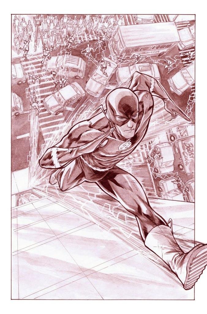 Flash Barry Allen by Francis Manapul