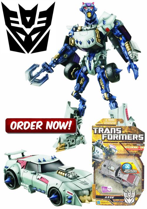 Axor Transformers Figure Deluxe Class 2010 Hasbro