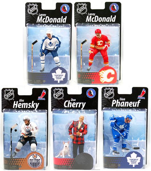 Canadian Grosnor Exclusive McFarlane Hockey Set