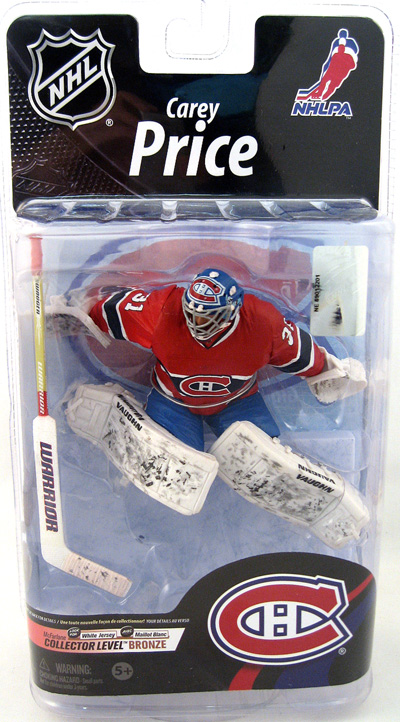 Carey Price Red Jersey Figure