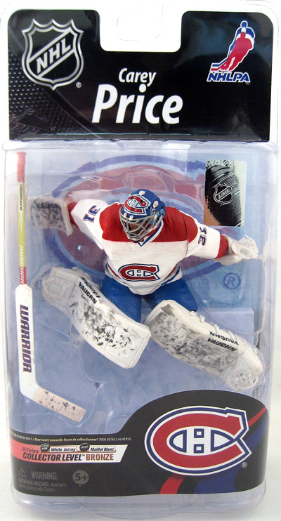 Carey Price White Jersey Figure