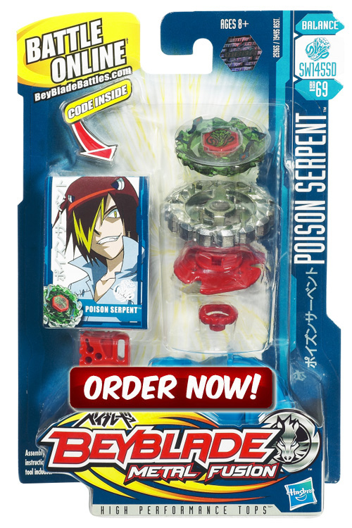 Poison serpent Beyblade 2010
