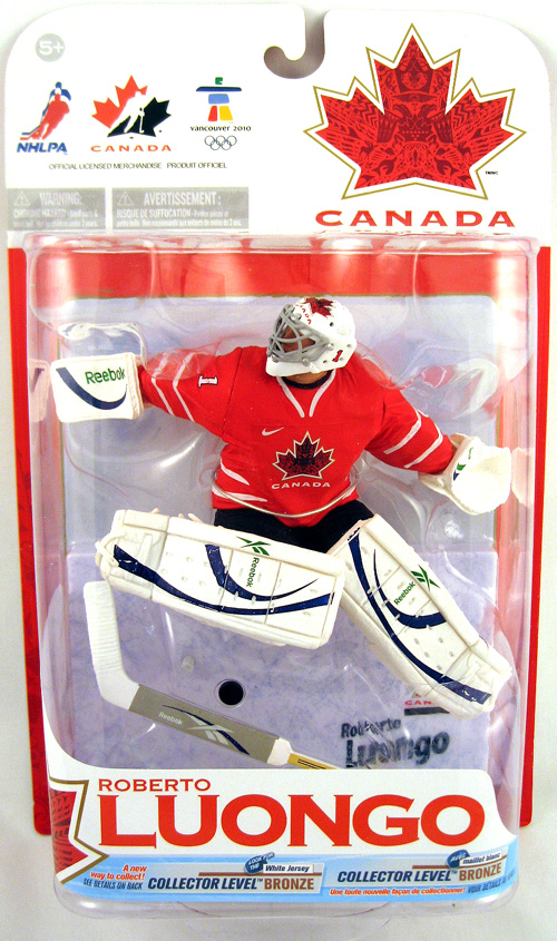 Roberto Loungo Team Canada Figure