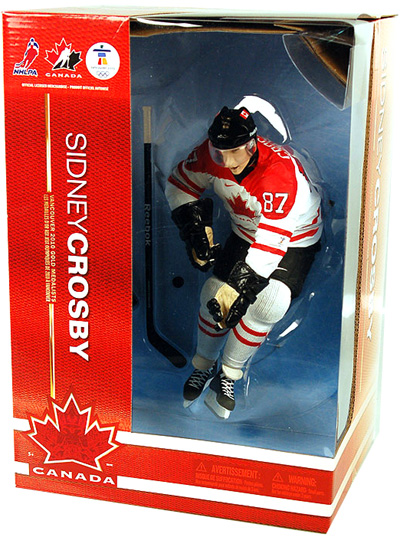 Sidney Crosby Team Canada Figure