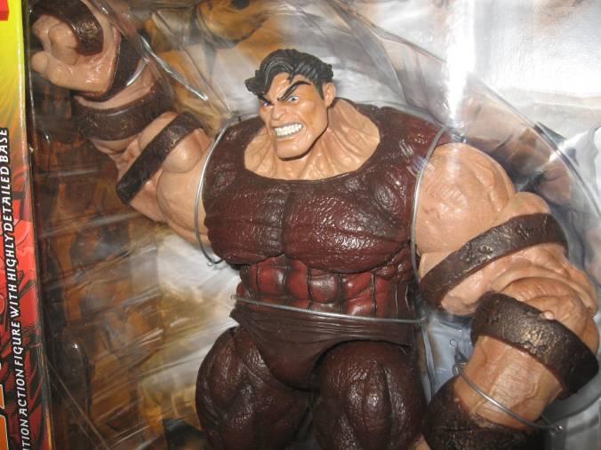 Juggernaut Unmasked Marvel Select