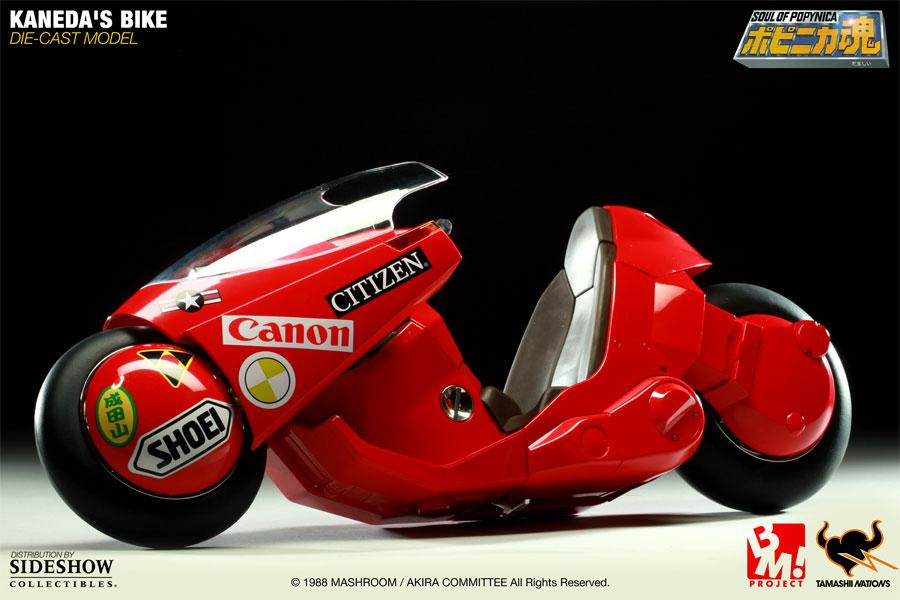 Akira 6 Inch Die Cast Model Kaneda S Bike Cmdstore