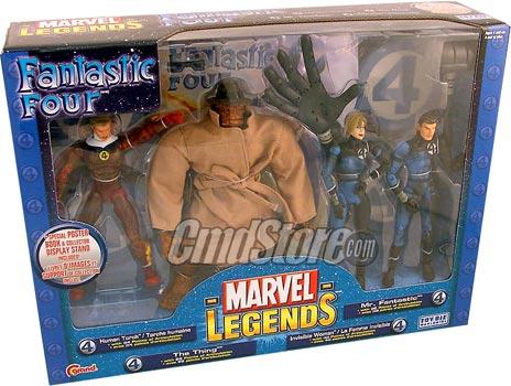 Marvel Legends 4-Figures Box Set Fantastic Four