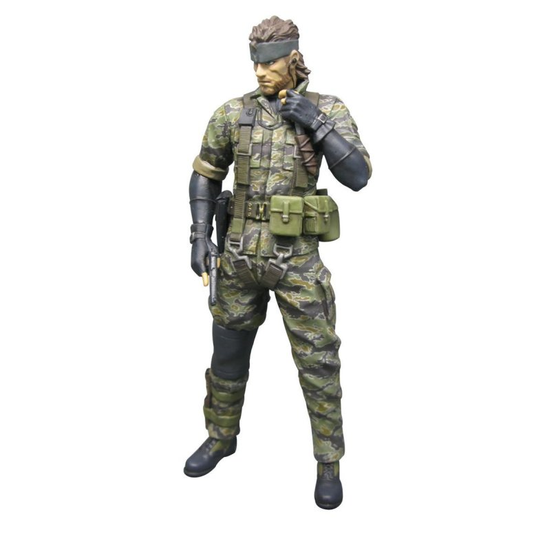 Metal Gear Solid 3 Snake Tiger Camo Version Action Figure