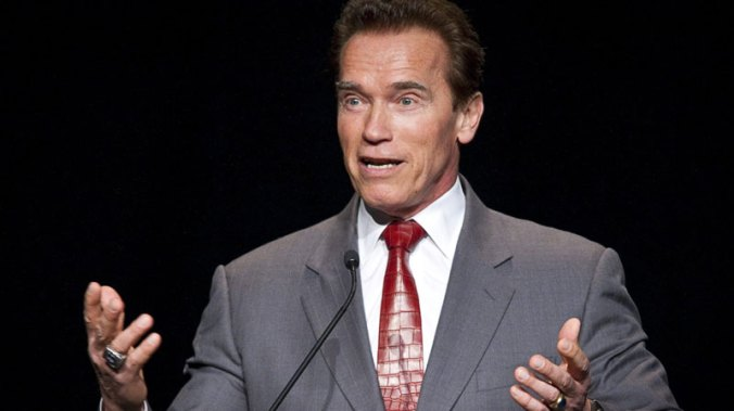 Schwarzenegger wants to be president