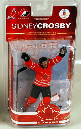 Sidney Crosby Red Jersey Figure