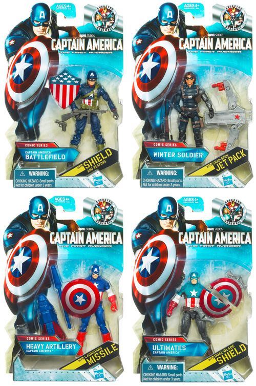 Captain America Movie 3.75 Inch Action Figures