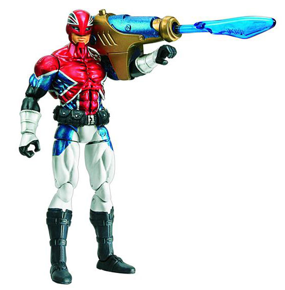 Captain Britain 3.75 Inch Action Figure