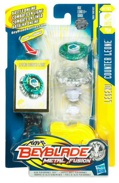 Counter Leone Beyblade Metal Fusion Legend Series