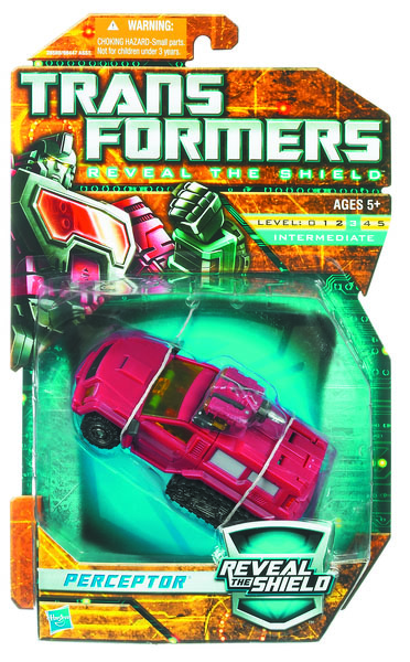Tranformers Yellow Card 6 Inch Action Figure Deluxe Class (2011 Wave 2) - Perceptor (SUV)