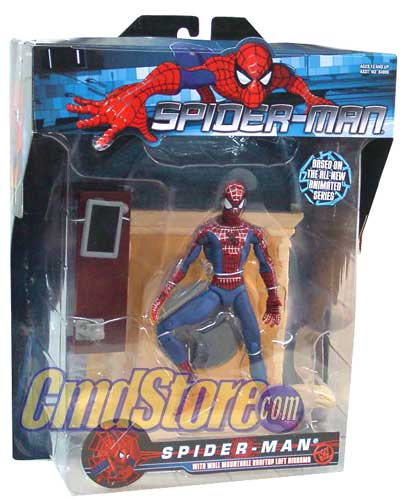 spiderman mtv cartoon figure