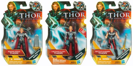 Thor Movie 3.75 Inch Action Figures