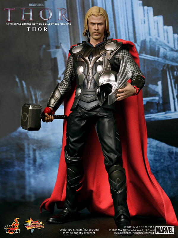 Thor Movie Masterpiece 12 Inch Figure Hot Toys