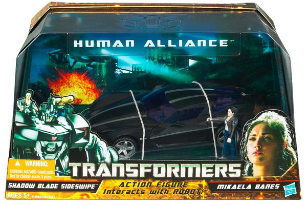 Transformers Human Alliance Sideswipe w Mikaela