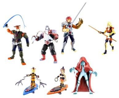 Thunder  Toys on Designs Are Based On The Latest Incarnations Of The Thundercats Team