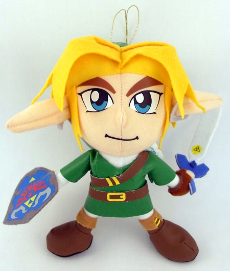 Link Legend of Zelda Plush Figure