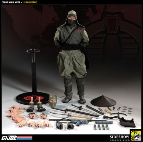 Viper Cobra on Cobra Ninja Viper     Sdcc Sideshow Figure    Action Figure World