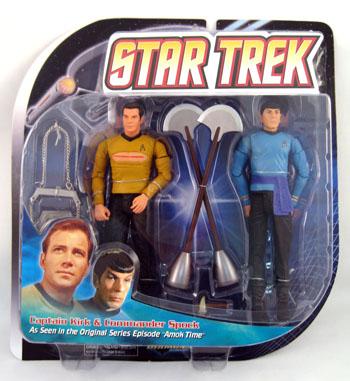 Captain Kirk and Commander Spock