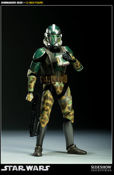 Star Wars: Clone Wars #09 Commander Gree (R)