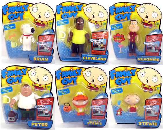 Cleveland Family Guy Toys : Family guy interactive figures cmdstore