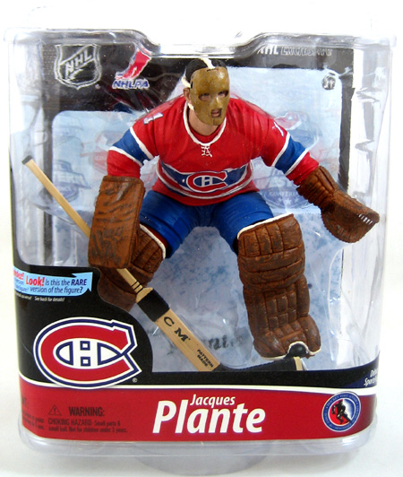 Jacques Plante Hockey Figure