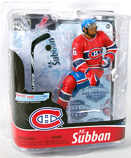 P.K. Subban NHL Hockey Figure 2012