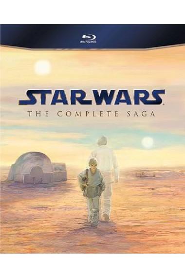 Star Wars: The Complete Saga (Blu-ray) (Widescreen)