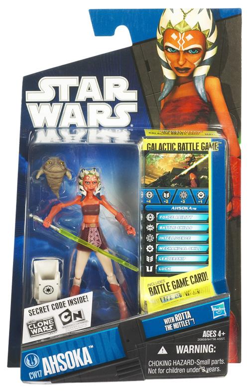 Ahsoka Star Wars Clone Wars Figure