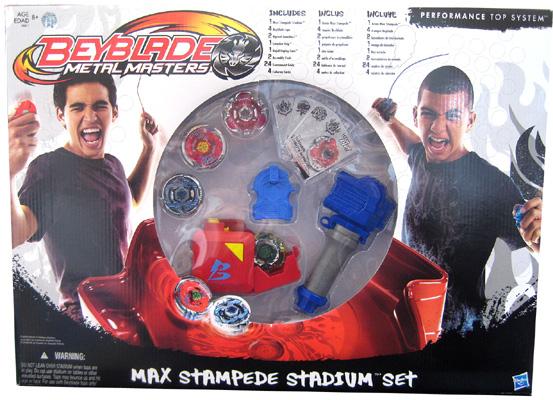 Max Stampede Beyblade Staduim Set
