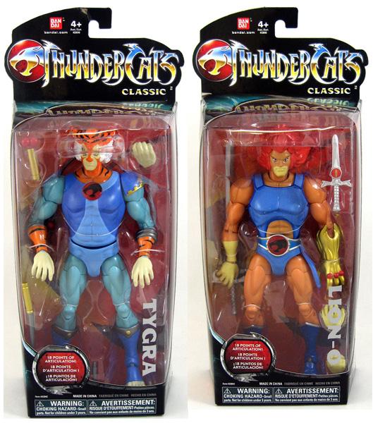 Thundercats 8 inch action figures Mattel