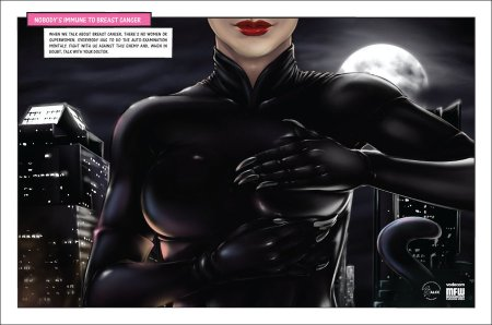 Catwoman Breasts