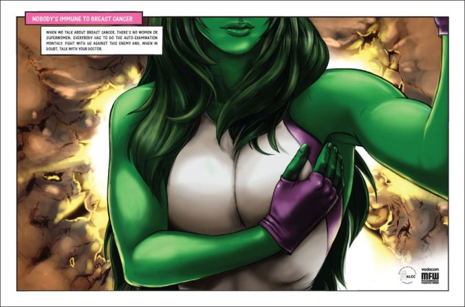 She Hulk Breasts