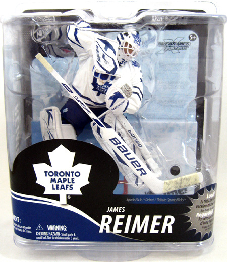 James Reimer NHL Figure