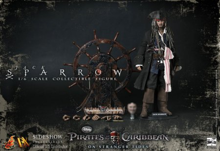 Captain Jack Sparrow Pirates of the Caribbean On Stranger Tides 12 Inch Figure
