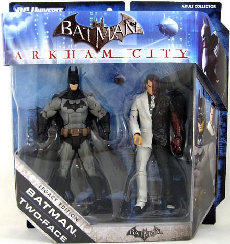 Batman Arkham City Action Figures Batman-vs-two-face-arkham-city-figure-set