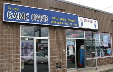 Video Game store in Saint Hubert Quebec