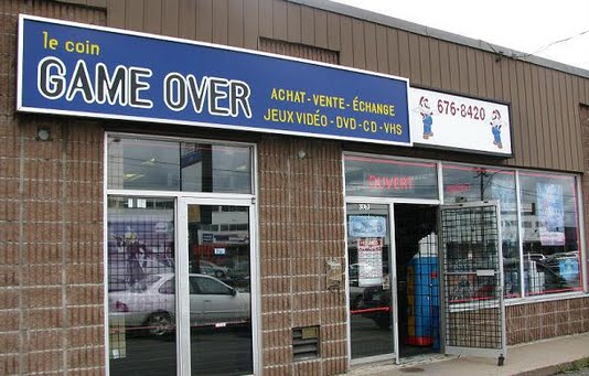 Video Game store in Saint Hubert Quebec